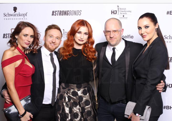 Cream's Artistic Director Dean Brindley​ enjoyed a glittering night at the British Hairdressing Awards with the rest of the Cream dream team. Here's what happened behind the scenes