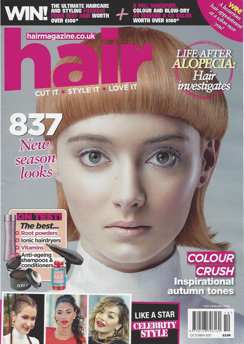 Hair magazine cover