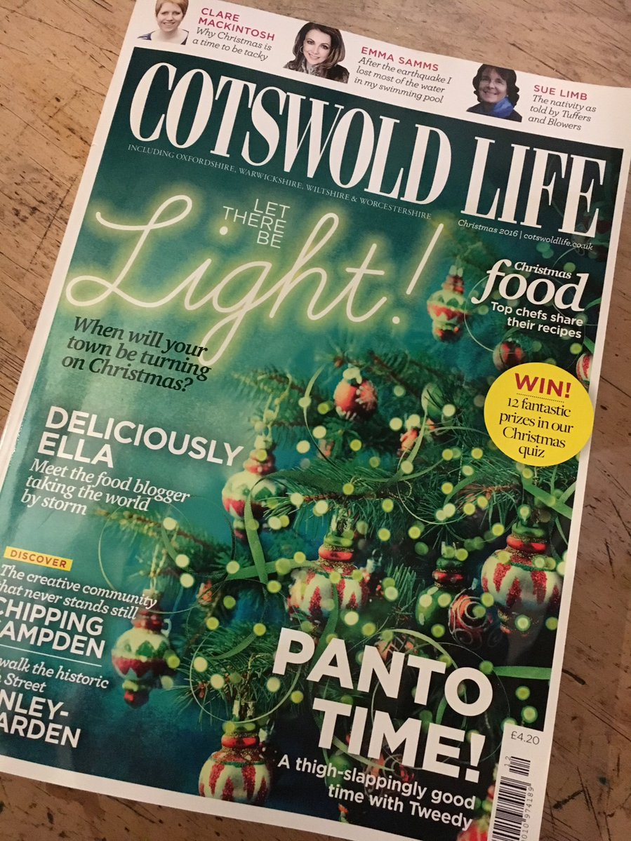 Cotswold Life party hair cover