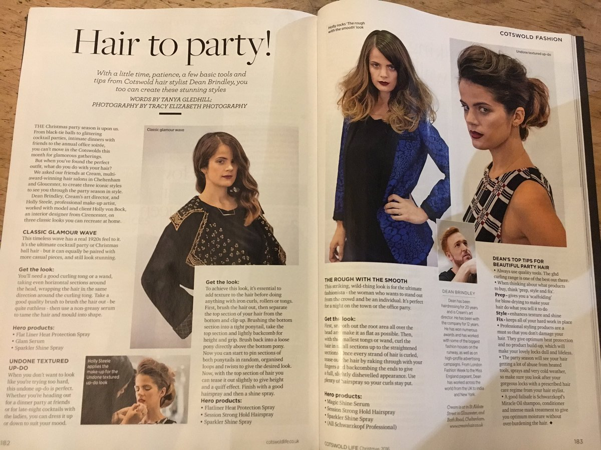 Cotswold Life party hair