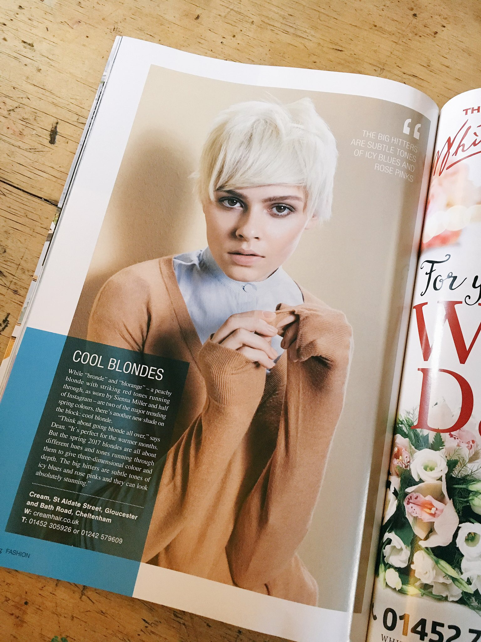 Cotswold Living magazine Spring Hair Trends